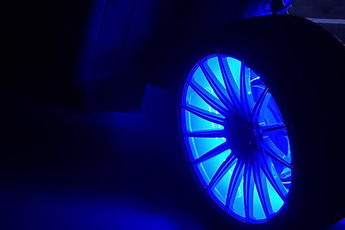 (8B).  Two Strip Single Color Wheel Ring Kit