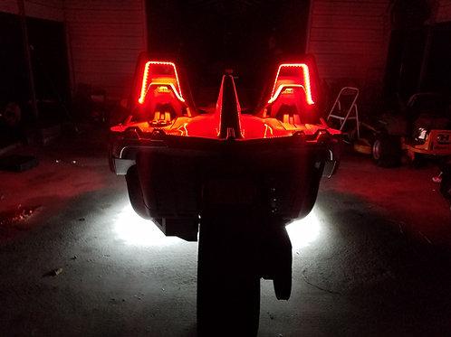 (4A).  Single Color Headrest (Roll Bar)