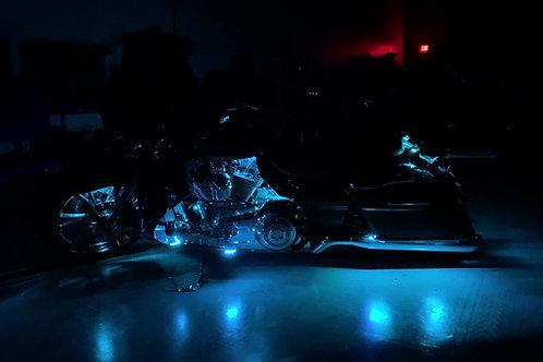 (15C) Harley Cruiser Chase Kit (Clear Strips)