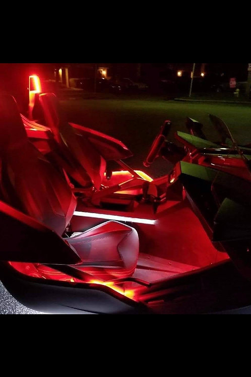 (7).  Single Color Glow Interior Kit