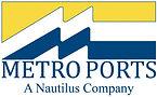 Metro Ports logo 4 inches vector w nauti
