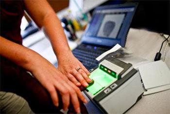 Live Scan Fingerprint