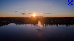 Couché de soleil Lac Boivin