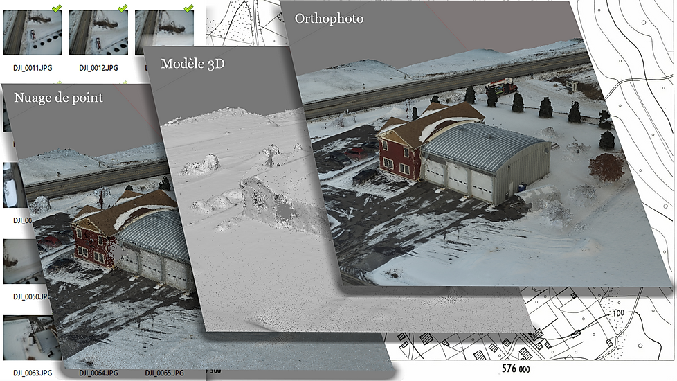 Photogrammetry Drone Diffusion