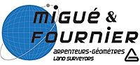 Migué et fournier arpenteur géometre logo