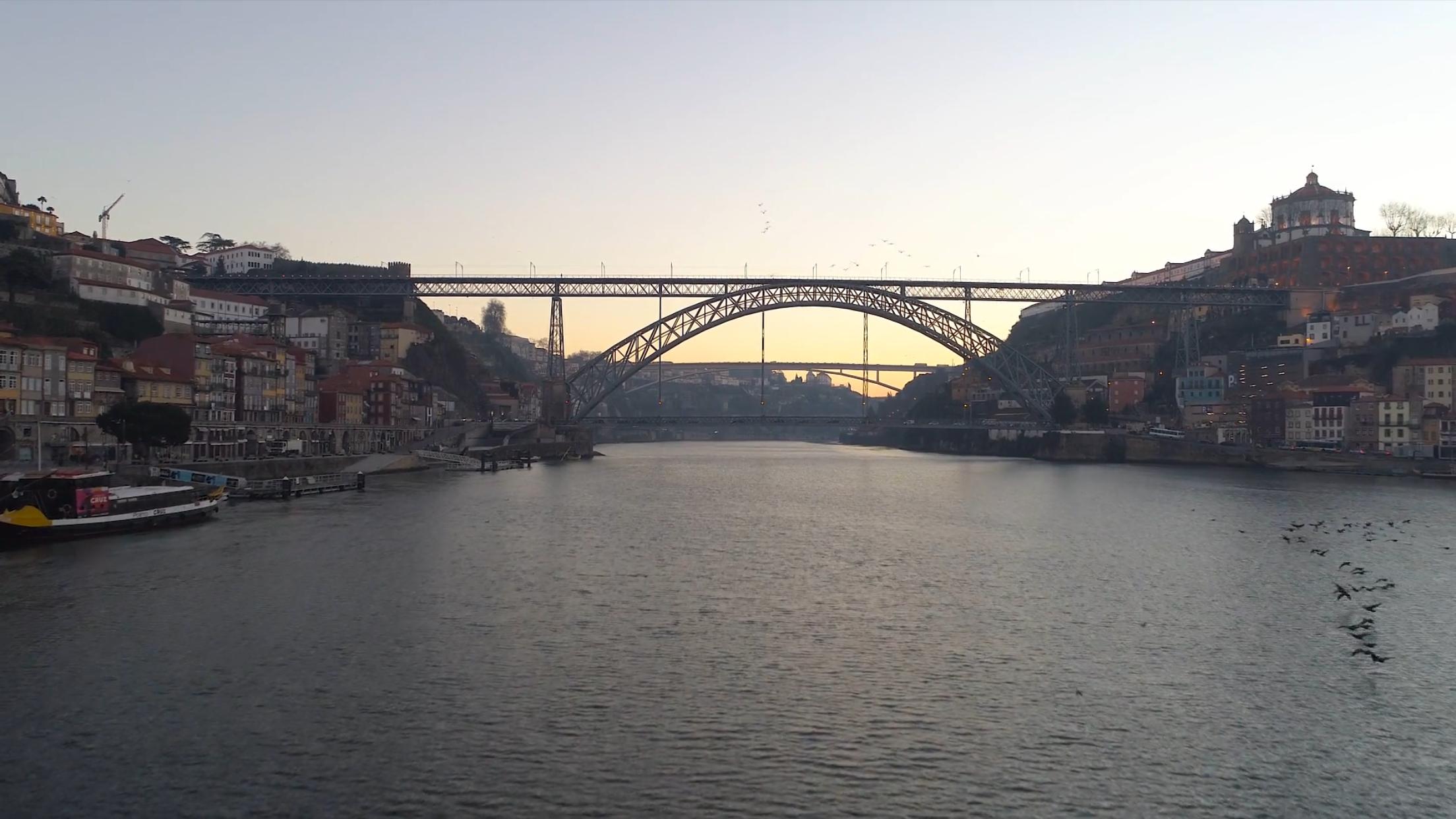 porto, portugal, drone diffusion