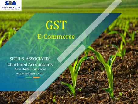GST impact on E-Commerce Operators