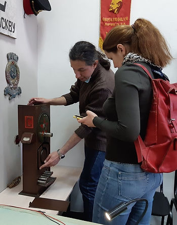 Электрожезловый аппарат Трегера | Музей Дедушкин чердак | Москва. Кремль в Измайлово