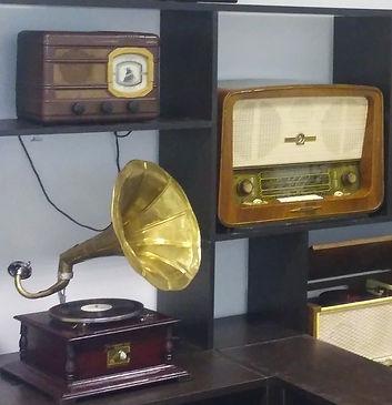 Граммофон и радиоприемники