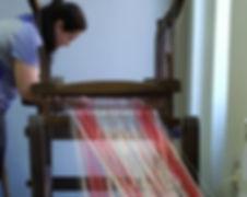 Подготовка ткацкого станка к работе