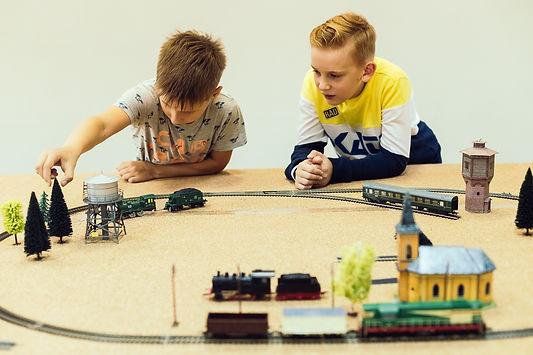 Дедушкин чердак | макет железной дороги