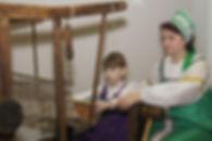 Мастер-класс   Ткацкий станок   Музей