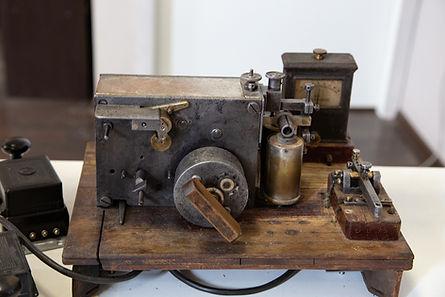 Телеграфный аппарат системы Морзе