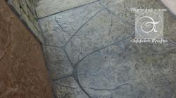 Имитация камня. Декоративный бетон.
