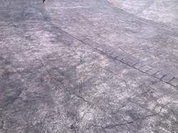 Печатный бетон.