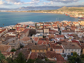 January in the Peloponnese