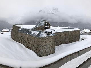 The First World War Fort At Mittelberg, Sexten/Sesto