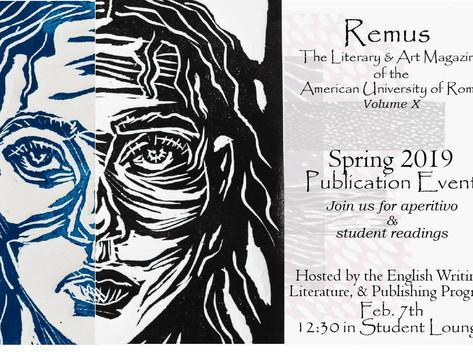 Remus Volume X Publication Launch