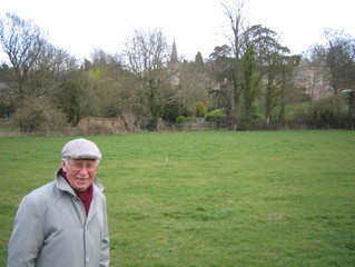 On a personal note - my father, Roy Hodges