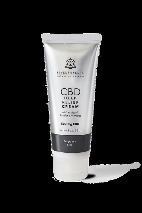 500mg Deep Reief Cream Unscented