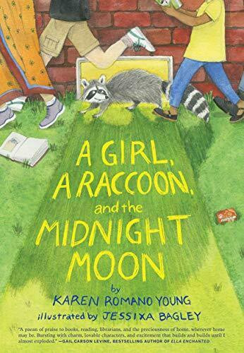 A Girl, A Raccoon and the Midnight Moon