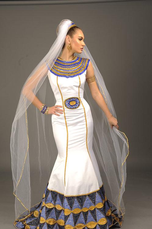 Queen Nefertari of Egypt Gown