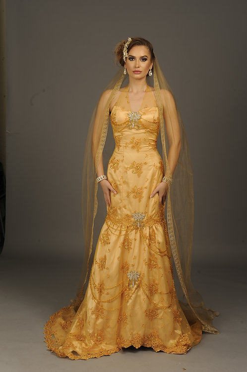 Gold-Gown