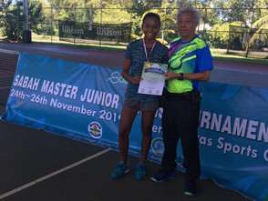 JIS Tennis Ace Competition Winner