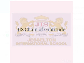 JIS Chain Of Gratitude Students Submission