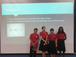 JIS Prefects Charity Fundraiser Year 8
