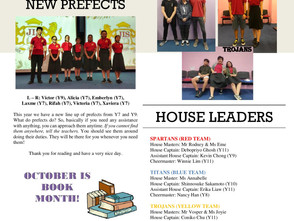 The SECOND JIS Newsletter Created By the Students For the Students
