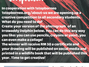 JIS Drawing/Painting Competition in Collaboration with 1stopborneo