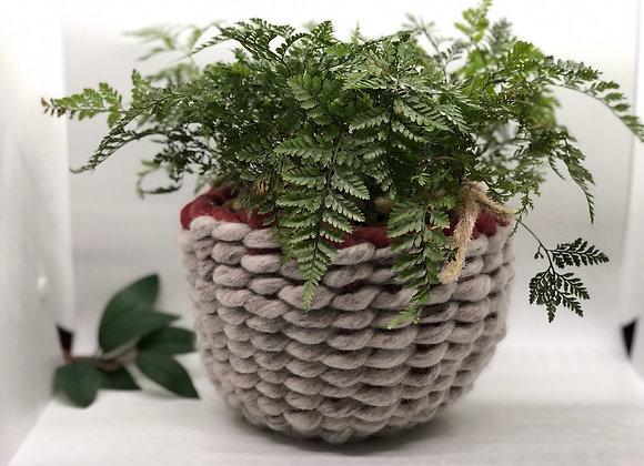 Hestia - Felted Woven Basket