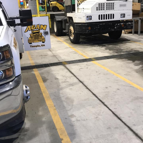 We can come to you for your fleet service needs!