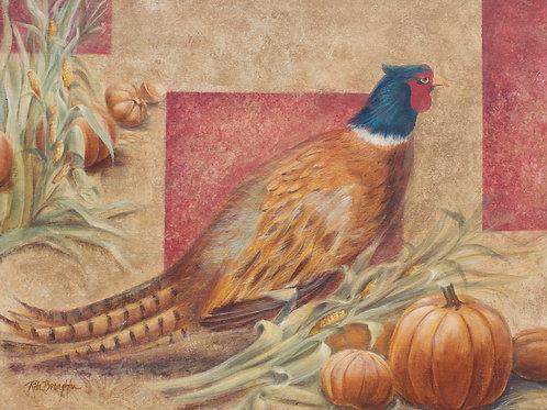"""Original Painting """"Pheasant II"""""""
