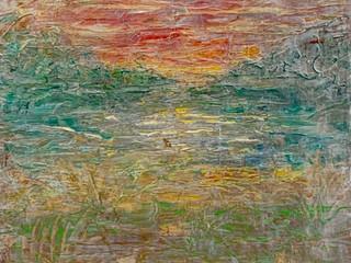 Sunset Meadow II