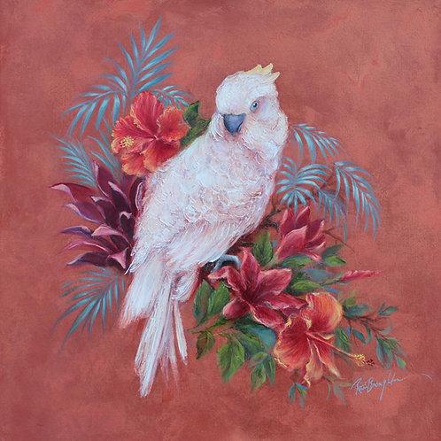 "Original Painting ""Paradise Parrot I"""