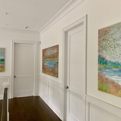 Paintings Installed