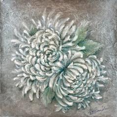 Paired Chrysanthemum