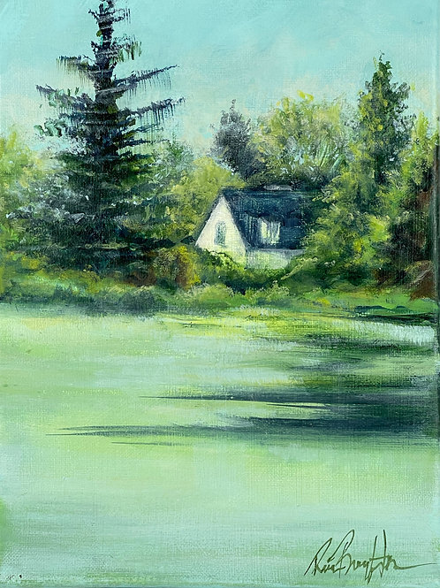 House By The Pond