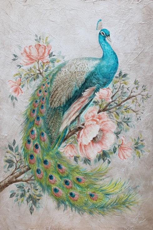 "Original Painting ""Peacock Pride"""
