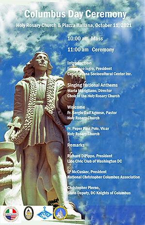 Columbus Ceremony 2021