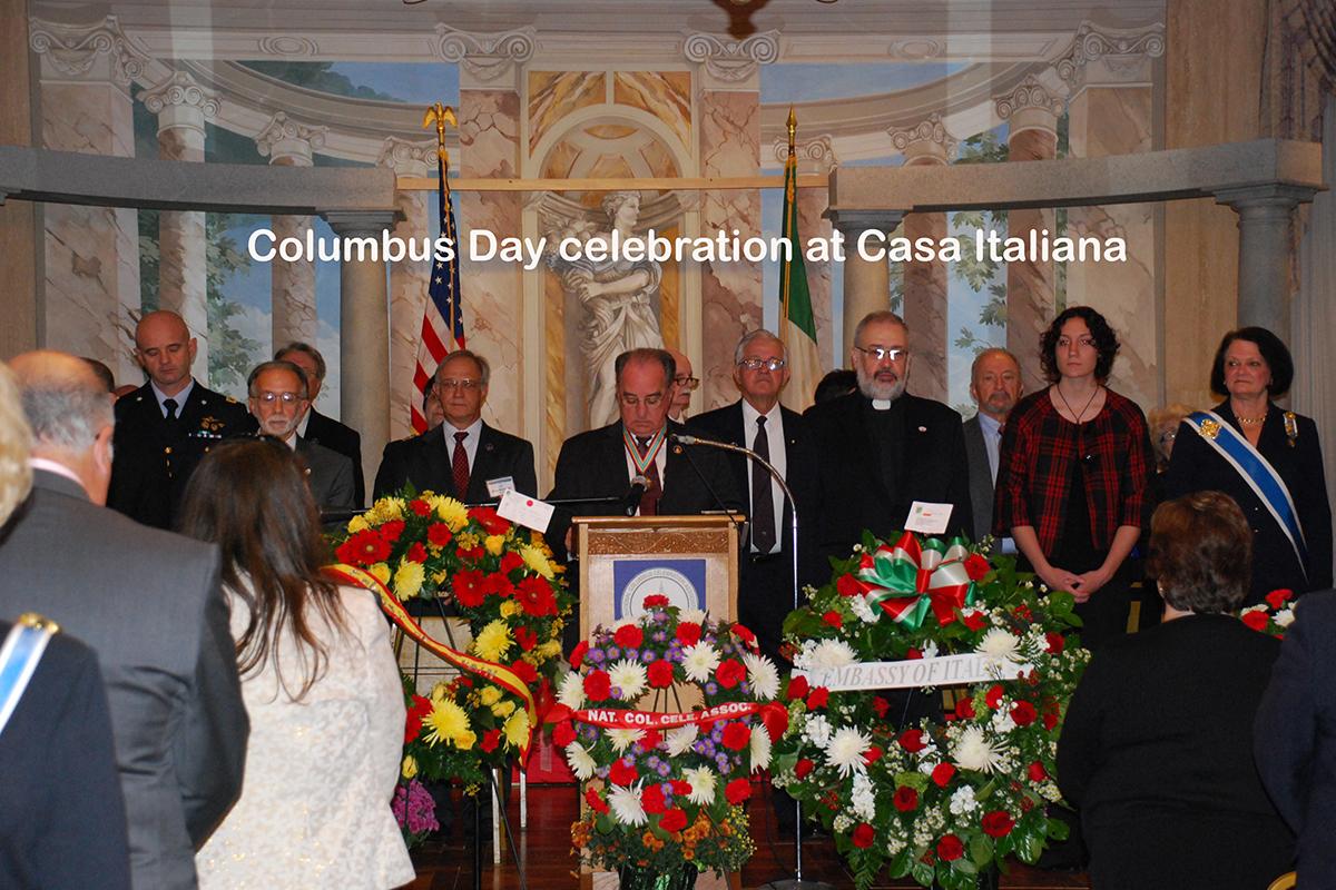 Columbus Day at Casa Italiana