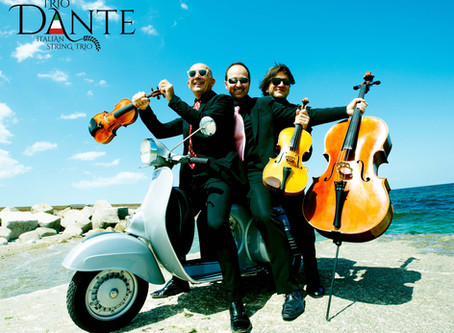 Trio Dante (formerly Trio Lennon) to perform at Casa Italiana on September 29, 2018 (6:30-8:00 pm)