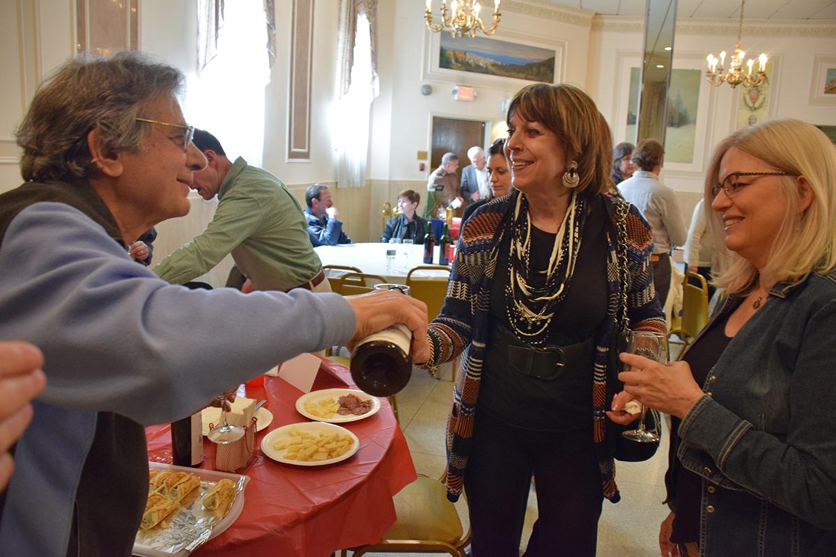 Wine tasting at Casa Italiana