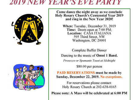 2019 New Year's Eve Party