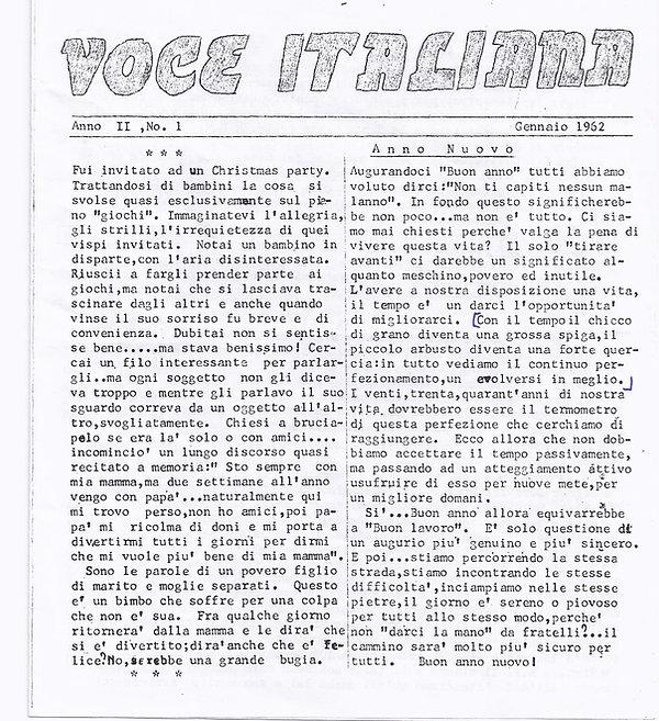 voce italiana 1962  1