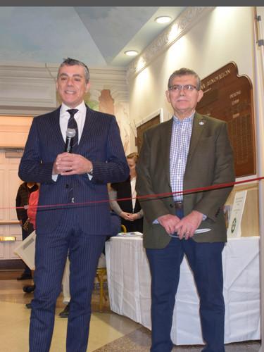 Inauguration by First Counselor Domenico Bellantone