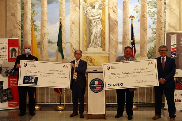 Lido Club Donates Funds to CISC and CILS