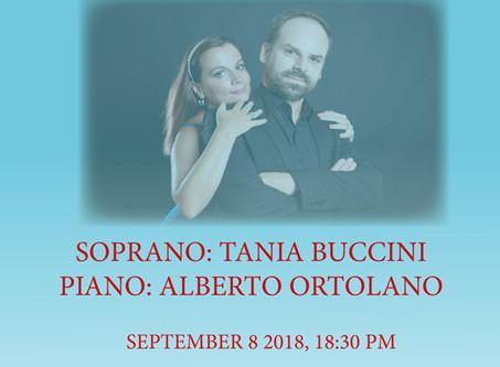 The Duo Buccini to perform at Casa Italiana